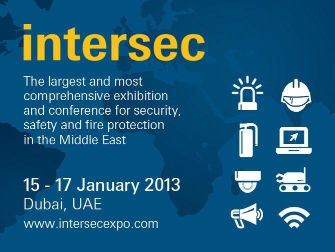 Intersec, Dubai 19th – 21st January 2014